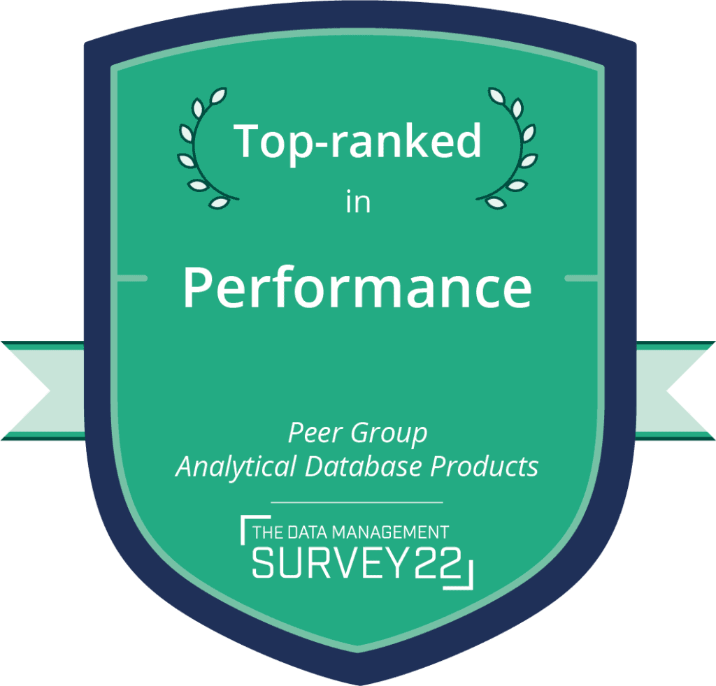 Barc - Top Ranked: Performance Analytical Database Products